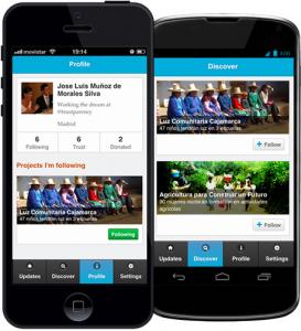 Aplicación trustparency iOS y Android